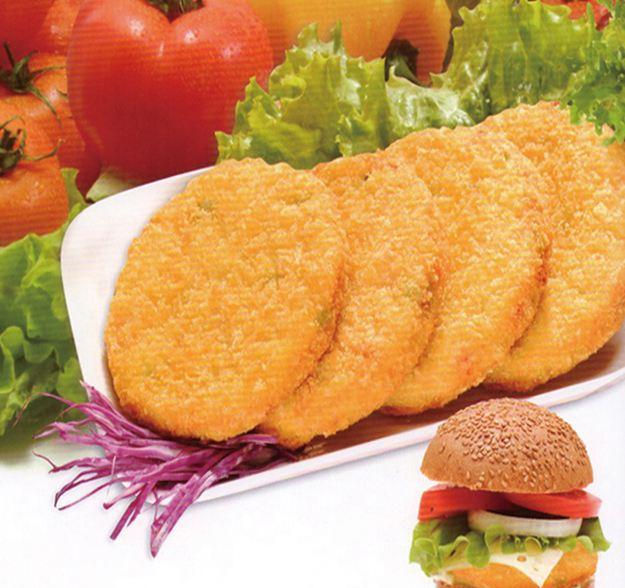 乡村汉堡饼
