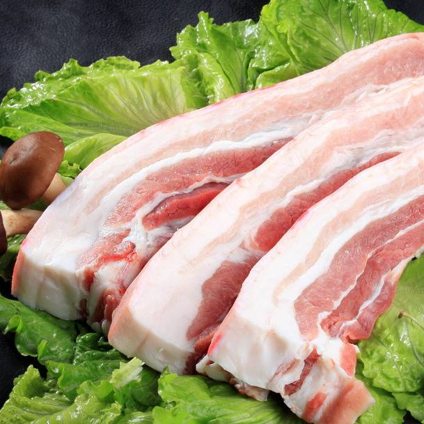 五花分割肉