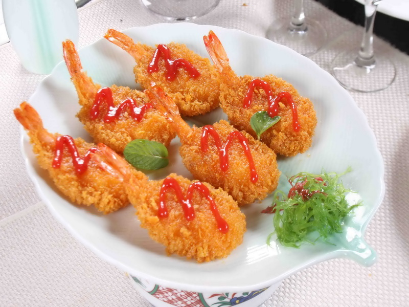 黄金蝴蝶虾虾
